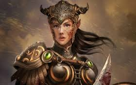 alariani warrior of the realm